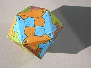 M.C.Eschers Kuboktaeder