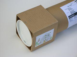 Paket-Rolle mit Würfel-Ende