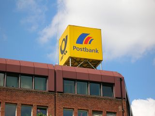 Post-Würfel in Dortmund, Oberpostdirektion