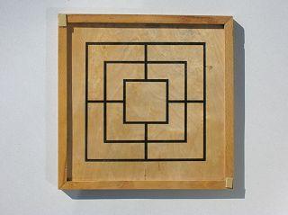 2D Mühle-Spielbrett