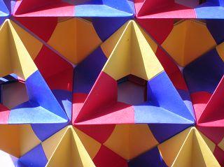 Falt-Oktaeder:
