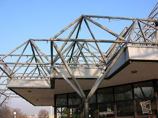 Tragfähige Dachkonstruktion