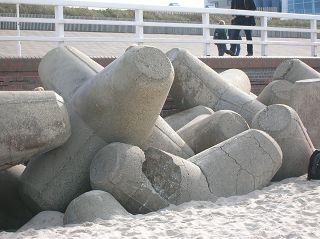 Tetrapoden, Westerländer Strandpromenade
