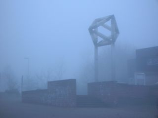 Oktaeder im Nebel