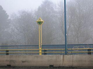 Beleuchtung, Ruhrbrücke in Witten-Bommern