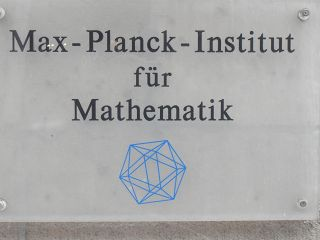 Ikosaeder vom Max-Planck-Institut in Bonn