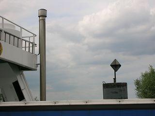 Radar-Oktaeder in Wischhafen an der Elbe