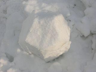 Schnee- Dodekaeder
