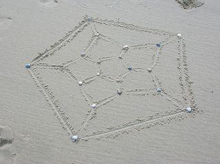Dodekaeder in Zentralprojektion (Schlegeldiagramm)
