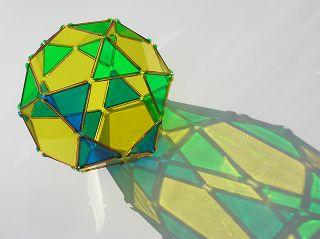 Ikosidodekaeder im Effekt-System