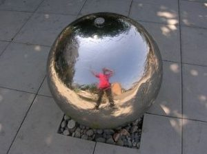 Spiegelkugel in Dornach