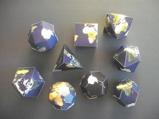 Die Erde - mit Ecken und Kanten