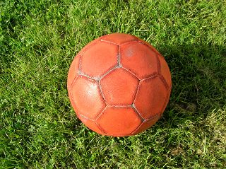 Ikosaederstumpf als Fussball