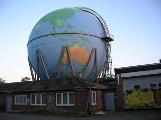 Gasometer in Wetter-Wengern