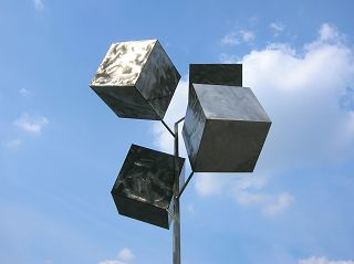 Cluster of Cubes, Dortmund, Harenberg-Center beim Hauptbahnhof
