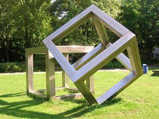 Würfelkonstruktion von Alf LECHNER