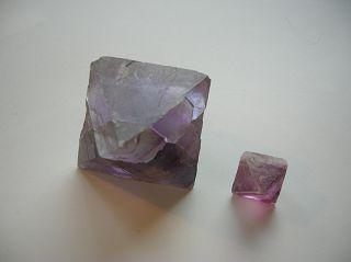 Fluorit-Oktaeder